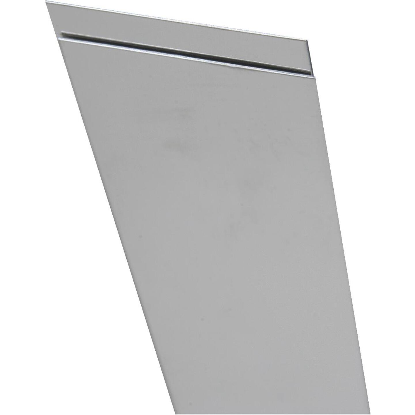 K&S 6 In. x 12 In. x .018 In. Stainless Steel Sheet Stock Image 1