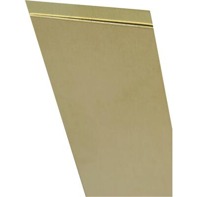 K&S 4 In. x 10 In. x .032 In. Brass Sheet Stock