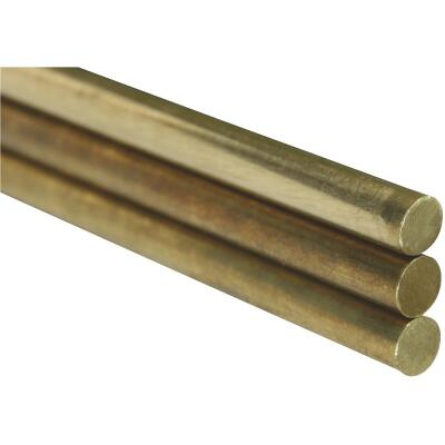 K&S 1/16 In. x 12 In. Solid Brass Rod (3-Count)
