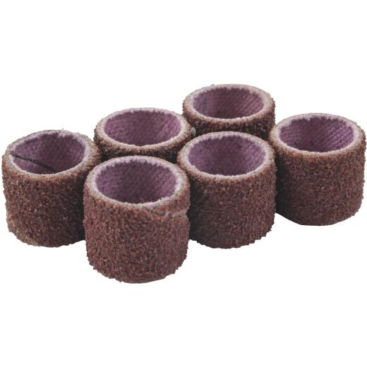 Forney 1/2 In. x 1/2 In. Medium Drum Sander Refills (6-Pack)