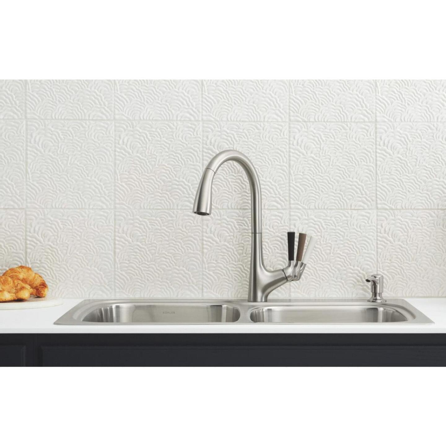 Kohler Malleco Single Handle Lever Pull-Down Kitchen Faucet, Stainless Image 6
