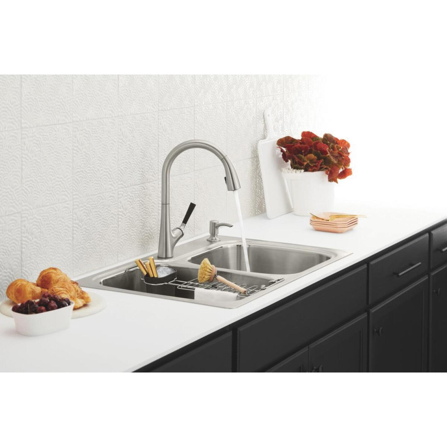 Kohler Malleco Single Handle Lever Pull-Down Kitchen Faucet, Stainless Image 7