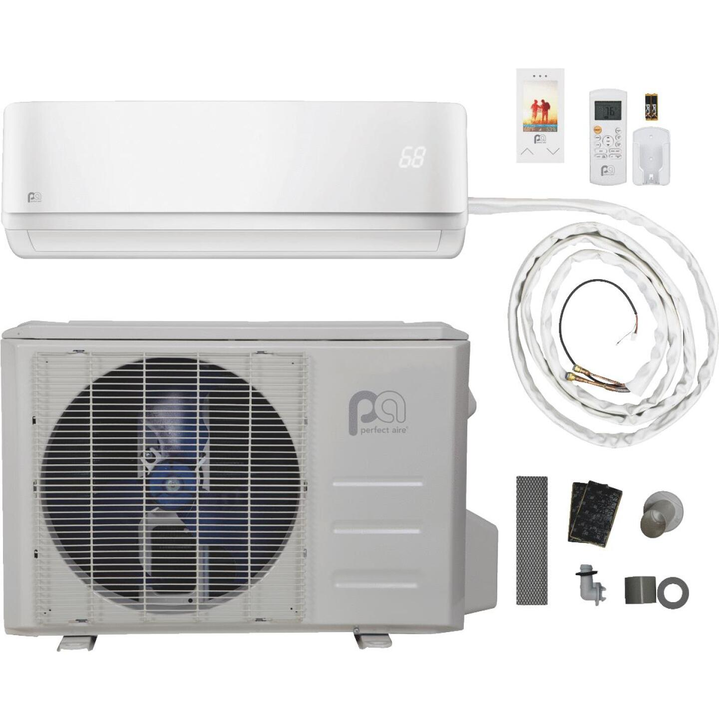 Perfect Aire 12,000 BTU 550 Sq. Ft. Mini-Split Room Air Conditioner with Heating Mode Image 1