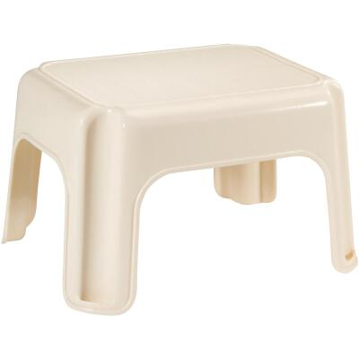 Rubbermaid Bisque 1-Step Stool