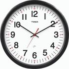 """Timex 14-1/2"""" Set & Forget Timex Office Wall Clock Image 1"""