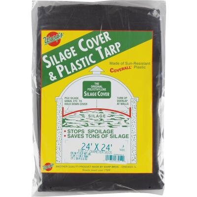 Warp's 24 Ft. X 24 Ft. Coverall Polyethylene 3 Mil. Silage Cover