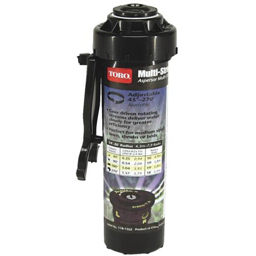 Toro Multi-Stream 4 In. 45 Deg. to 270 Deg. Pop-Up Head Sprinkler