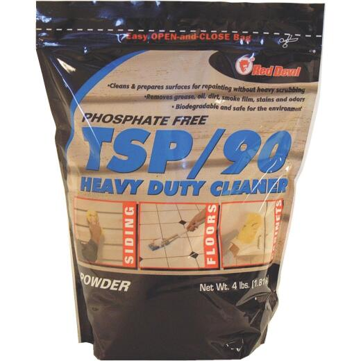 Red Devil TSP/90 4-1/2 Lb. Ready To Use Powder Heavy-Duty Cleaner