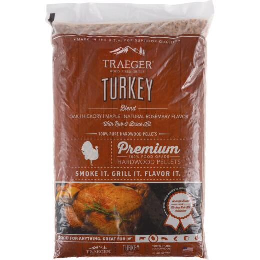 Traeger 20 Lb. Oak, Hickory, Maple Wood Pellet Kit