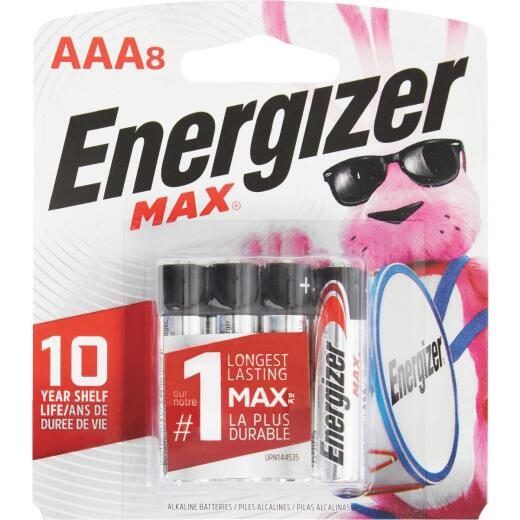 Energizer Max AAA Alkaline Battery (8-Pack)