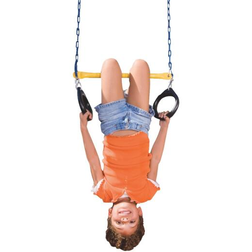 Swing N Slide 115 Lb. Weight Capacity Ring & Trapeze Combination